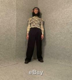 ISSEY MIYAKE PLEATS PLEASE Long Sleeve Top Top T-shirt High Neck Check Yellow