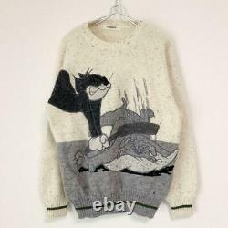Iceberg/Knit Sweater/Tom And Jerry/White Size L tops Long sleeves