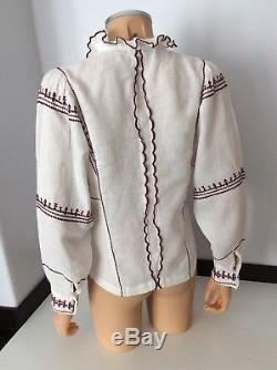 Isabel Marant Cream Long Sleeve Blouse Shirt Top Vgc Size 36 Uk 8