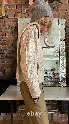 Isabel Marant Étoile Tayle Cable Knit Sweater Top Size FR38 NWOT