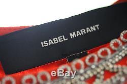 Isabel Marant Varvin Long Sleeve Top Fr 38 Uk 8