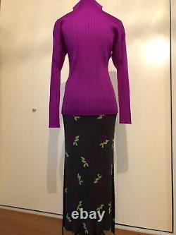 Issey Miyake Pleats Please Women Top Size 4 and Skirt Size 3 set from Japan