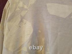 Ivan Grundahl White Cotton Painted Long-sleeve Top L Nwt Art To Wear