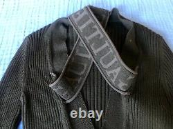 JEAN PAUL GAULTIER MAILLE WOOL RIB KNIT PULLOVER FUZZI TOP ITALY Size S