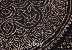 Jean-Paul GAULTIER FEMME Geometric Foil Print Tops Size 40(K-73739)
