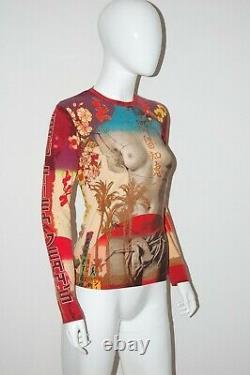 Jean Paul Gaultier 90s Venus De Milo Top Vintage Torso Naked Shirt