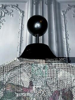 Jean Paul Gaultier SS1994 Mesh Top With Zodiac Size S