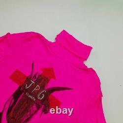 Jean Paul Gaultier Women's Long Sleeve Top M Colour Pink