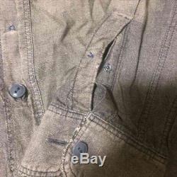KAPITAL Damage Processing Long-Sleeved Long Shirt Men's Tops Size S