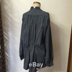KAPITAL Tops Blouse Navy Pinstripe Long sleeve Stripe Stylish Women 3 Japan F/S