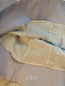Khaite Women Top Size XS NWT Blue 100% Cotton Puff Longsleeve