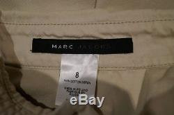 MARC JACOBS Womens Beige 100% Cotton Collared Long Sleeve Blouse Top US8 UK12