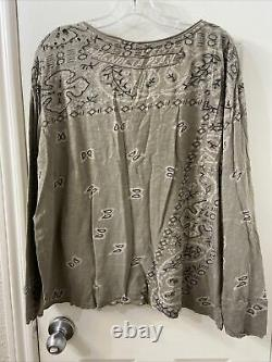 Magnolia pearl Cotton Long Sleeve Top One Size (item 10.4)