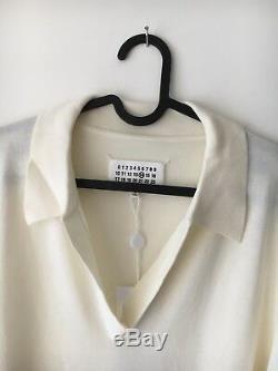 Margiela Long Sleeve Polo Top Sweater Size M