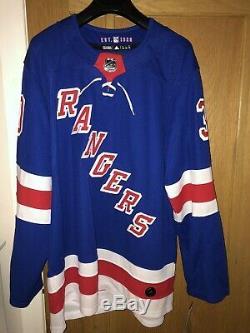 Mens NHL New York Rangers Henrik Lundqvist Branded Jersey