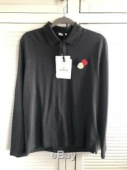 Moncler Long Sleeved Polo Top Shirt T Shirt