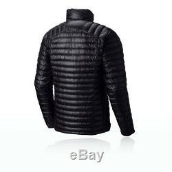 Mountain Hardwear Mens Ghost Whisperer Down Jacket Top Long Sleev Black