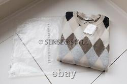 NEW 2019 Brunello Cucinelli Sweater Top long sleeve knit Size M