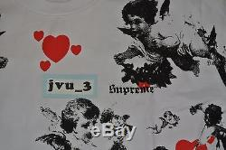 NEW CHERUB L/S TOP XL WHITE FW16 TEE SHIRT LONG SLEEVE box logo cdg nas gucci lv