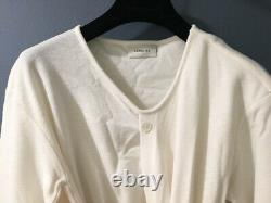 NEW LEMAIRE Long Sleeve Wool Knotted Knit top sz M