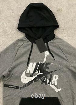 NEW Mens Nike Air Jordan Graphic AJ Fleece Tracksuit SET Hoodie & Bottom LTD Edt