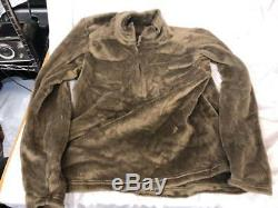 NEW PCU LONG SLEEVE TOP Level 3 Fleece Jacket X-Large Coyote PCU L3