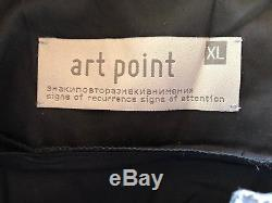 NWOT ART POINT Long Sleeve Top Tunic Blouse, Size XL
