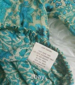 NWT Spell & the Gypsy Collective Designs Hotel Paradiso Aloha Fox Crop Top Sz XS