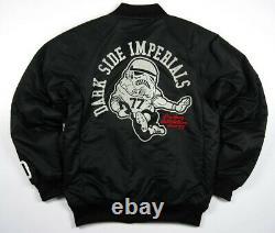 New Adidas Original Track Top Jacket StarWars Evil Coat Men Stormtrooper P01677