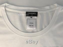 New Fabulous Chanel Paris-dallas Long Sleeve Americana Shirt Top M Medium