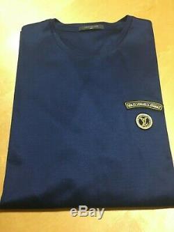 New Louis Vuitton Signature LV Long Sleeve Tee T-shirt Top XL