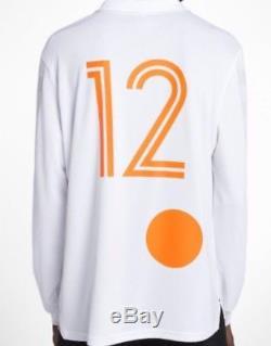 Nike x Off-White Home Football Jersey Size Medium Shirt Top Long Sleeves BNWT