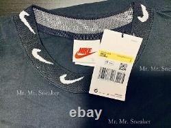 Nike x Stussy Long Sleeve Knit Top Black Small