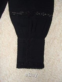 Nwt Isabel Marant Etoile Women Blouse Top Lace Size 42/10 Long Sleeves Unique