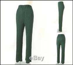 PLEATS PLEASE ISSEY MIYAKE Long Sleeve Tops Pants Set size4 green