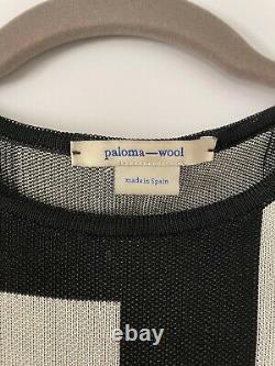 Paloma Wool El Valle Long Sleeve Check Top Size Small