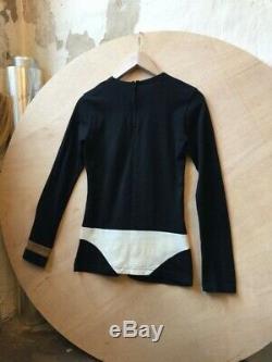 Peggy Moffitt COMME des GARÇONS cotton longsleeve top black CdG