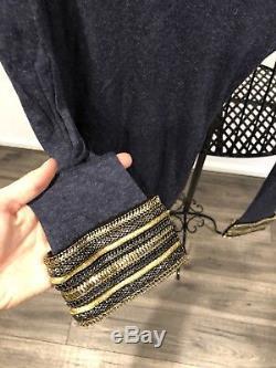 Pierre Balmain Long Sleeve Bracelet Top