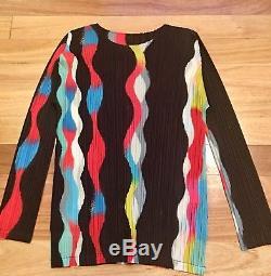 Pleats Please Long Sleeve Top Size 5