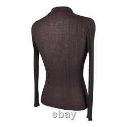 Prada Sweater / Top Vintage Brown Cashmere / Silk 40 / 6