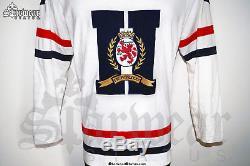 6ed06d7e Rare Vintage 90s Tommy Hilfiger White Red V Neck Longsleeve Shirt Sweater  Top L