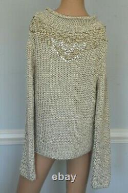 Ralph Lauren Collection Purple Label 2007 Runway Dress Sweater Top 10 12 / Large