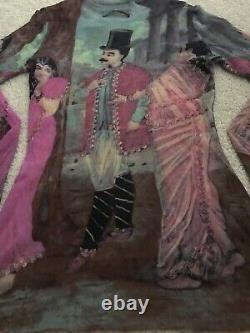 Rare Jean Paul Gaultier Maille Parisan Indian Mesh Sheer Top Tee SizeS EX