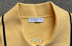 Sandro Paris Shirt Style Knitted Cardigan top Size1