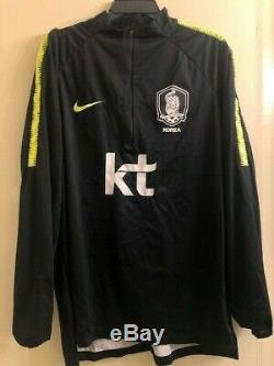 South Korea 18-20 Shield Squad Long Sleeve Top Player Issued 899006-011