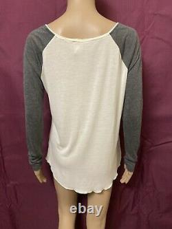 Spell and the Gypsy Collection Top Womens Medium Dreamers Raglan Tee L/S