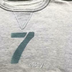 Stencil Sweatshirt Vintage Old Clothes Super Rare Gray Men's Tops Long Sleeve