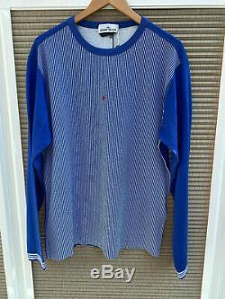 Stone Island Marina Long Sleeve Top Blue XL Rrp £200