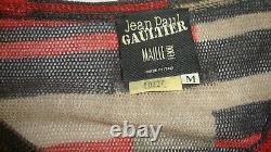 Stylish Jean Paul Gaultier Multi-color Wool & Silk Top