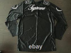 Supreme El Dorado Football Jersey Top FW14 Black Sz XL